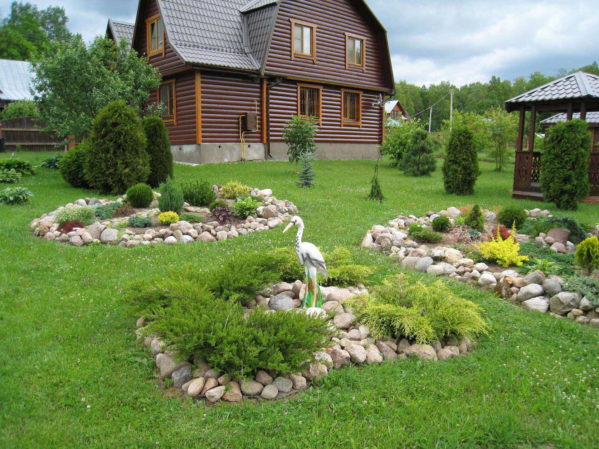 Дизайн на садовом участке своими руками фото